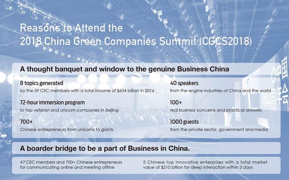2018 China Green Companies Summit | Canada China Business Council (CCBC)