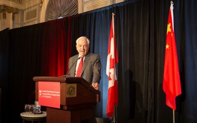 Business Luncheon with the Honourable John McCallum, Ambassador of Canada to the People's Republic of China, and LU Xu, Consul General of the PRC to Calgary