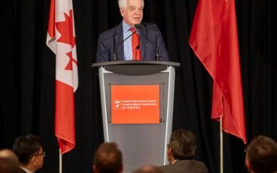 Business Luncheon with the Honourable John McCallum, Canada's Ambassador-Designate to China, and PENG Jingtao, Consul General of the People's Republic of China in Montreal
