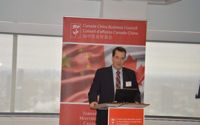 David Murphy, Minister (Commercial) Embassy of Canada in Beijing to Update CCBC Members on Business Opportunities with China