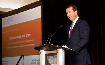 Business Luncheon with the Honourable Scott Brison, President of the Treasury Board and Minister of Digital Government